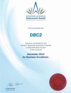 Northern Business Achievement Award