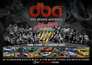 DBA Celebrates 250 Races With V8 Utes