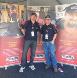 ENZED attend Sandown, bringing games, give-aways and fun!