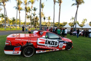 Enzed Races Into With The Aussie Ute Racing Series