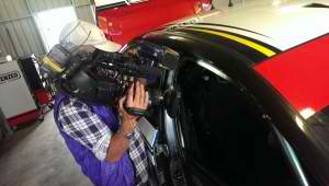 Filming With Racing Driver Cam Waters
