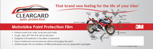 Honda Motorcycles Get Paint Protection