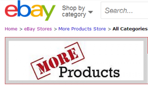 More Products eBay Store