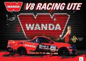 Wanda Re-Signs With V8 Utes