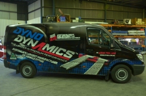 Dyno Dynamics Wraps Their Vans